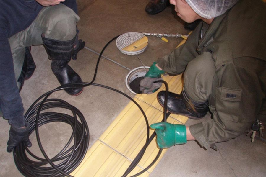 排水管高圧清掃