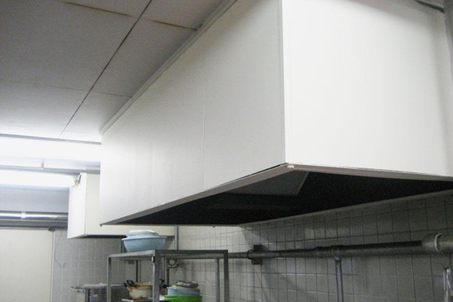 厨房フード耐熱塗装
